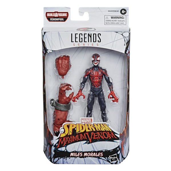 MARVEL VENOM 6 INCH LEGENDS SERIES FIGURE MILES MORALES