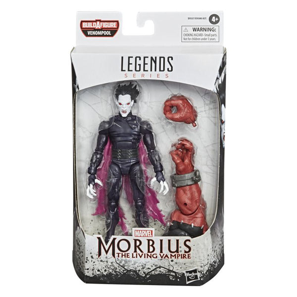 MARVEL VENOM 6 INCH LEGENDS SERIES FIGURE MORBIUS THE LIVING VAMPIRE
