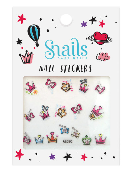 SNAILS NAIL STICKERS PERFECT PRINCESS