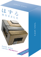 Huzzle Puzzle Cast Coil Level 4 Img 1 - Toyworld