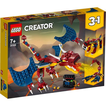 Lego Creator Fire Dragon - Toyworld