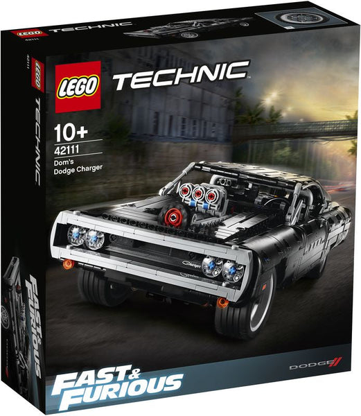 Lego Technic Fast & Furious Dom's Dodge Charger - Toyworld