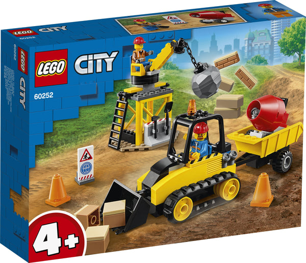 Lego City Construction Bulldozer - Toyworld