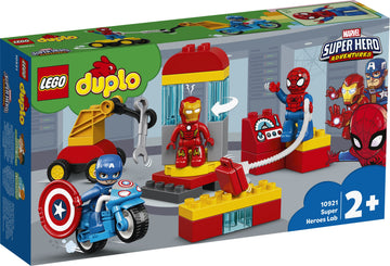 Lego Duplo Super Heroes Lab - Toyworld