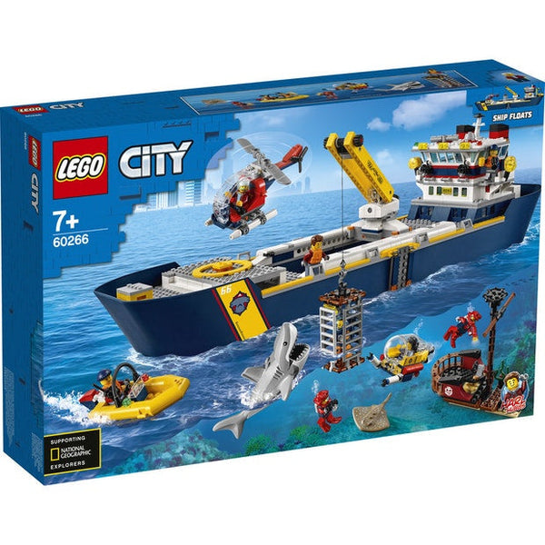 Lego City Ocean Exploration Ship - Toyworld