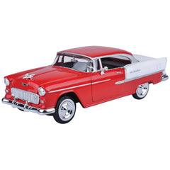 MOTOR MAX AMERICAN CLASSICS 1:24 DIE CAST VEHICLE 1955 CHEVY BEL AIR