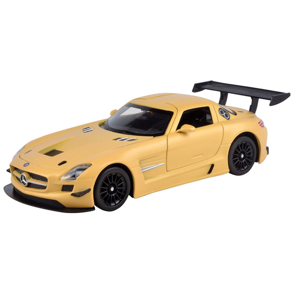 MOTOR MAX SATIN PAINT 1:24 DIE CAST VEHICLE MERCEDES-AMG GT3