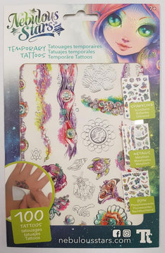 Nebulous Stars Temporary Tattoos Coralia - Toyworld