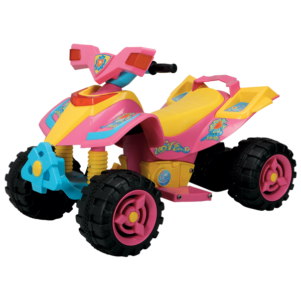 6V RIDE-ON QUAD LARGE GIRLS