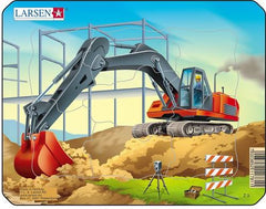 LARSEN CONSTRUCTION SMALL PUZZLE EXCAVATOR