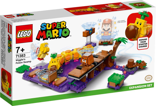 LEGO 71383 SUPER MARIO WIGGLER'S POISON SWAMP EXPANSION SET