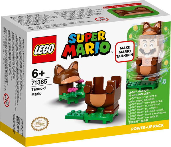 LEGO 71385 SUPER MARIO TANOOKI MARIO POWER-UP PACK