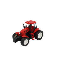 TEAM POWER 14CM FRICTION POWERED TRACTOR RED