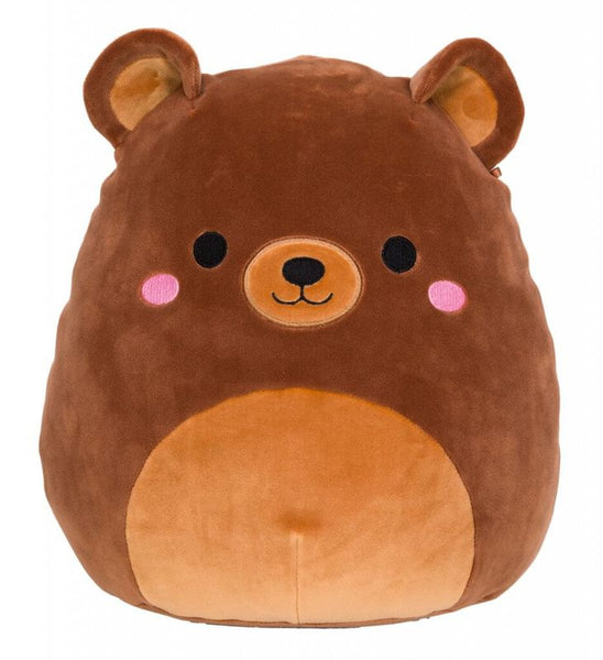 "SQUISHMALLOWS 16"" (40CM) PLUSH OMAR THE BROWN BEAR"