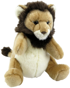 Antics Wildlife Series Lion Hand Puppet - Toyworld