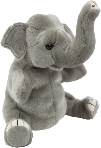Antics Wildlife Series Elephant Hand Puppet - Toyworld