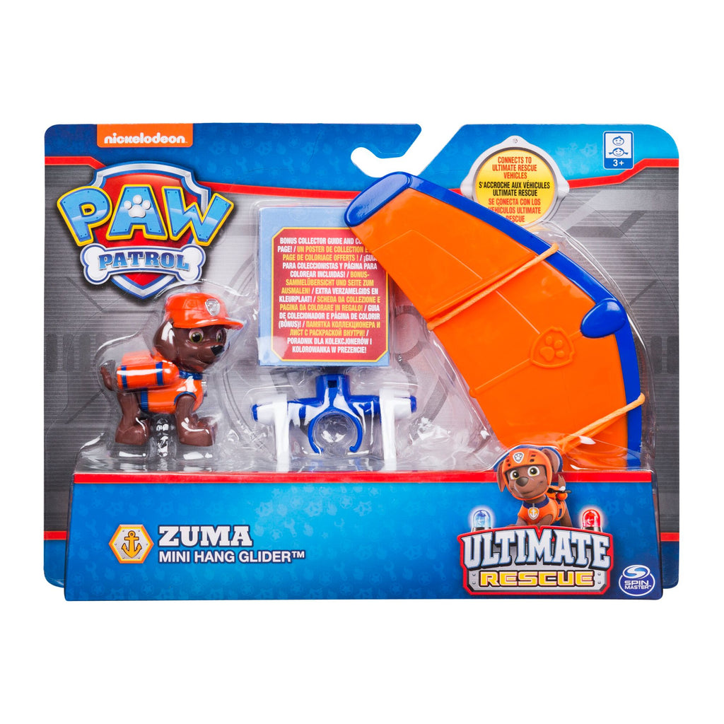PAW PATROL ULTIMATE RESCUE MINI VEHICLE ZUMA'S MINI HANG GLIDER