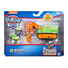 PAW PATROL ULTIMATE RESCUE MINI VEHICLE ROCKY'S MINI CRANE