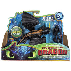 DRAGONS DRAGON & VIKING HICCUP & TOOTHLESS