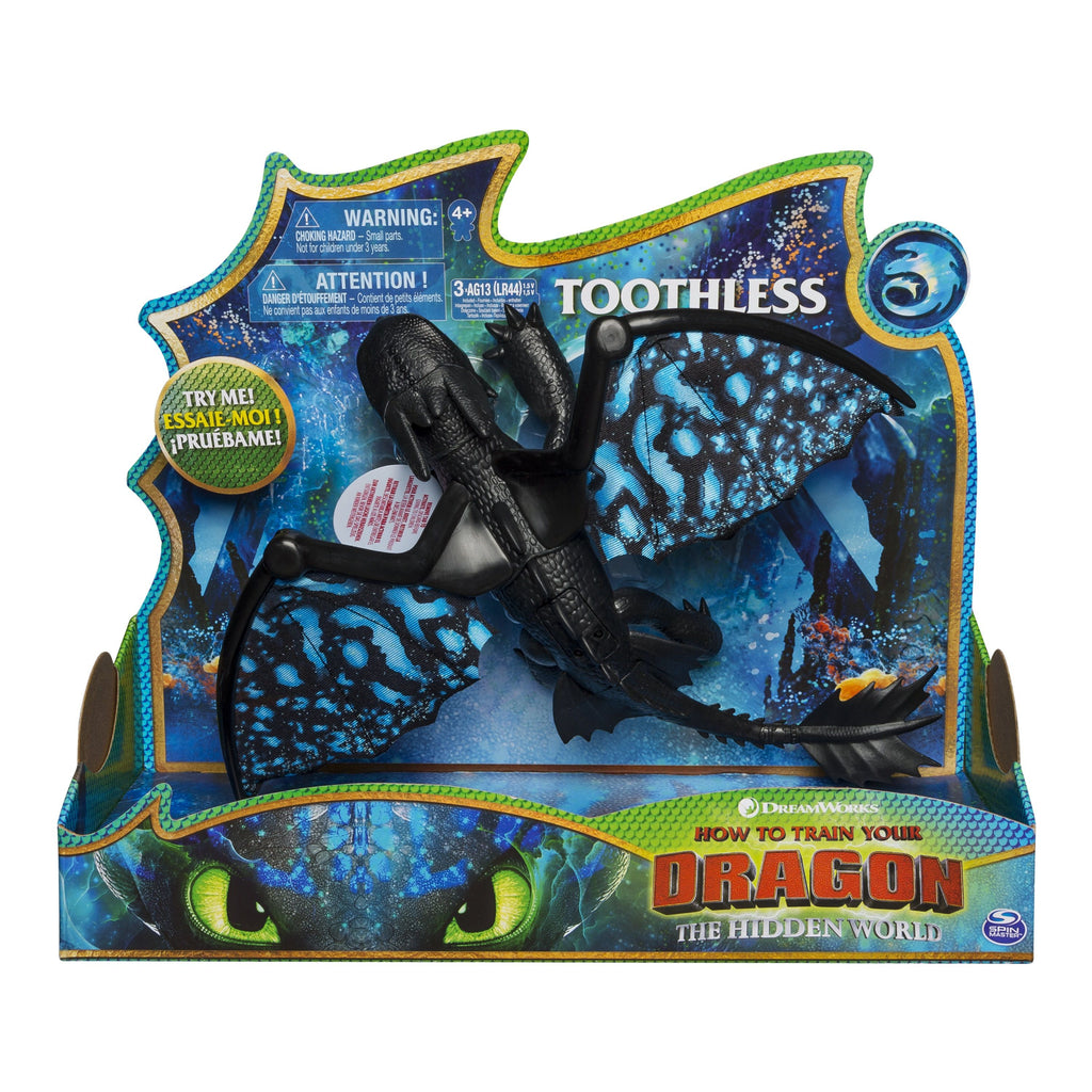 DRAGONS DELUXE DRAGON TOOTHLESS