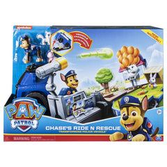 PAW PATROL ROLL N RESCUE VEHICLE CHASE'S RIDE N RESCUE TRANSFORMING POLICE VEHICLE