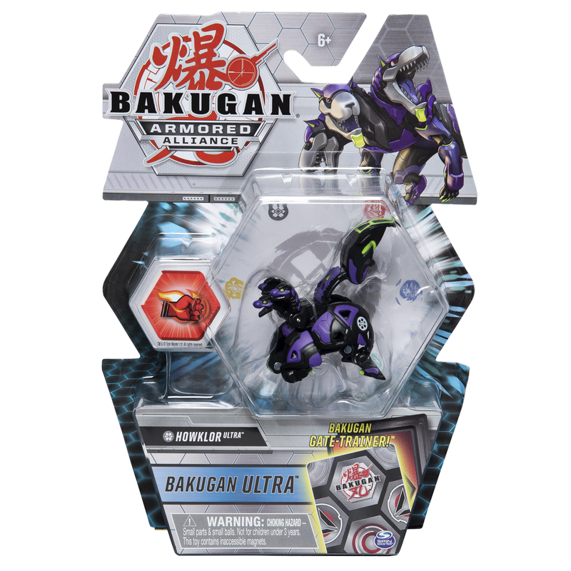 BAKUGAN ARMORED ALLIANCE DELUXE 1 PACK HOWKLOR