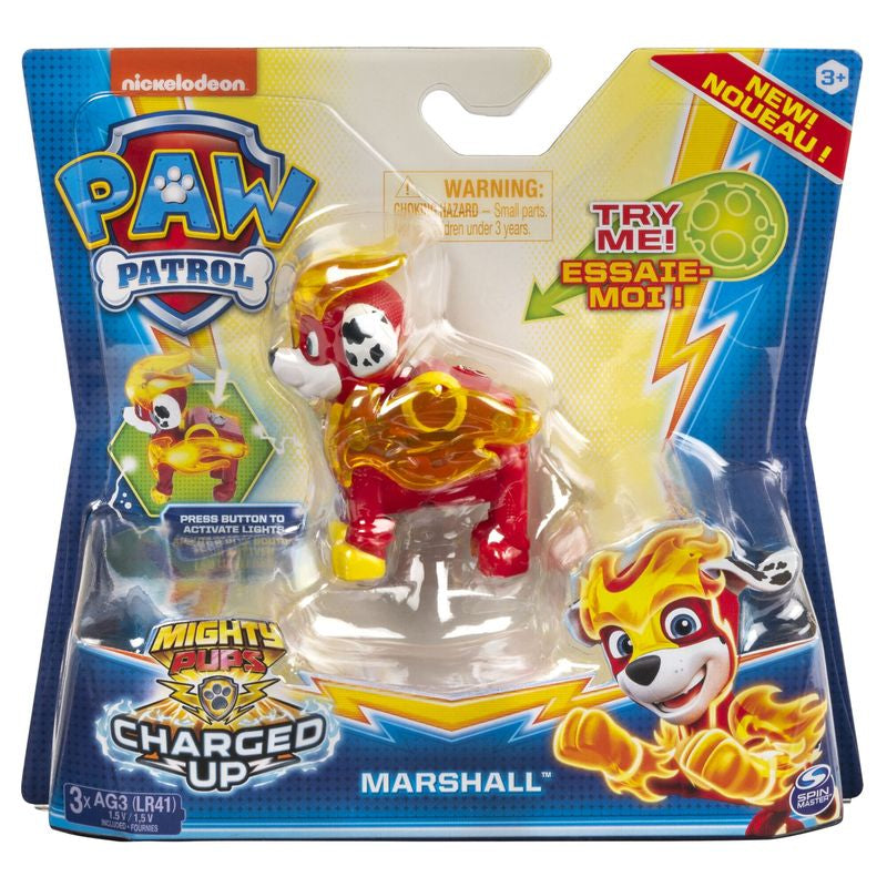 PAW PATROL HERO ACTION PUP CHARGED UP MARSHALL