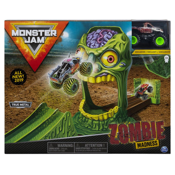 Monster Jam Basic Stunt Playset Zombie Madness - Toyworld
