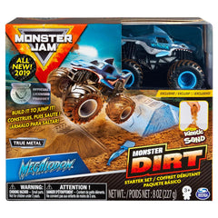 MONSTER JAM MONSTER DIRT STARTER SET MEGALODON