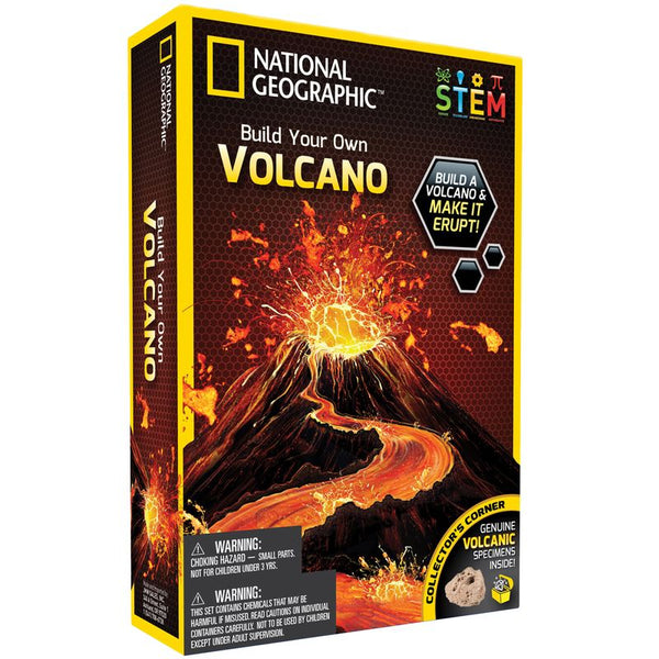 National Geographic Build Your Own Volcano - Toyworld