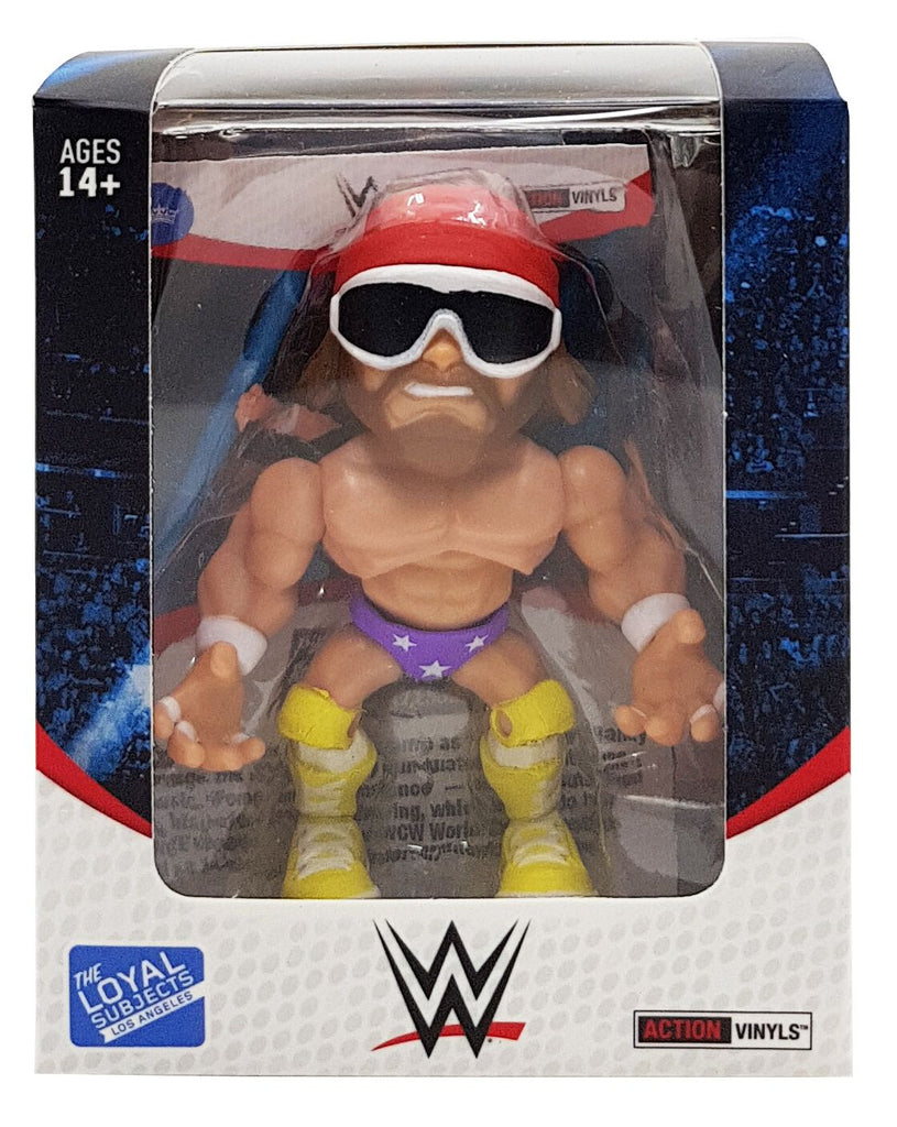 "THE LOYAL SUBJECTS WWE 3"" ARTICULATED VINYL ACTION FIGURE ""MACHO MAN"" RANDY SAVAGE ORIGINAL"