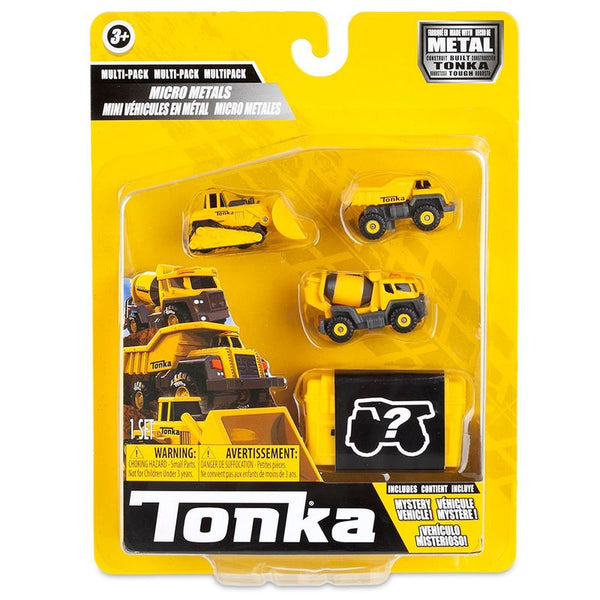 TONKA MICRO METALS MULTIPACK 4 PACK CONSTRUCTION