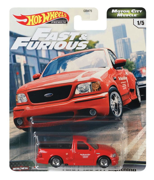 HOT WHEELS FAST & FURIOUS MOTOR CITY MUSCLE 1/5 FORD F-150 SVT LIGHTNING