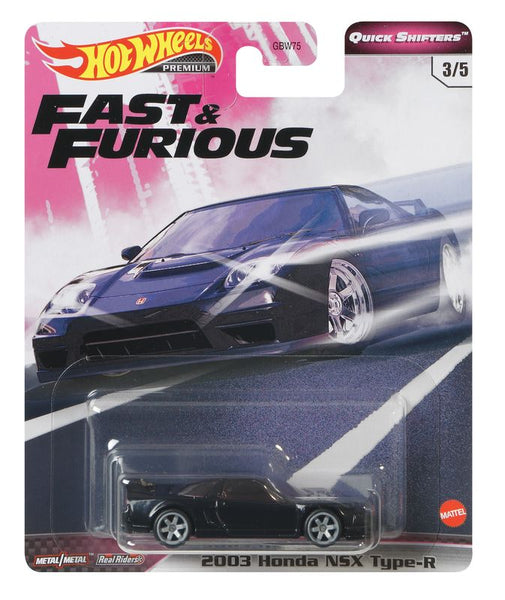 HOT WHEELS FAST & FURIOUS 3/5 2003 HONDA NSX TYPE-R