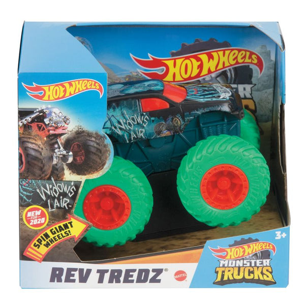 HOT WHEELS MONSTER TRUCKS REV TREDZ WIDOW'S LAIR