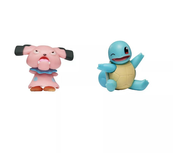POKEMON BATTLE FIGURE PACK SNUBBULL + SQUIRTLE
