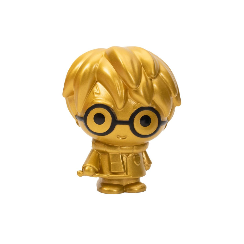 HARRY POTTER 10CM COLLECTIBLE FIGURE GOLDEN HARRY POTTER WITH WAND
