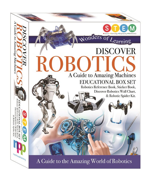 WONDERS OF LEARNING DISCOVER ROBOTICS BOXSET