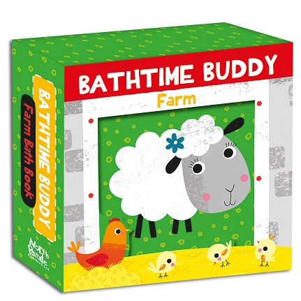 BATHTIME BUDDY FARM BATH BOOK