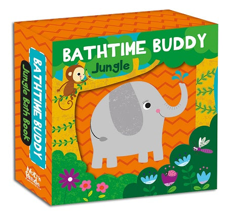 BATHTIME BUDDY JUNGLE BATH BOOK