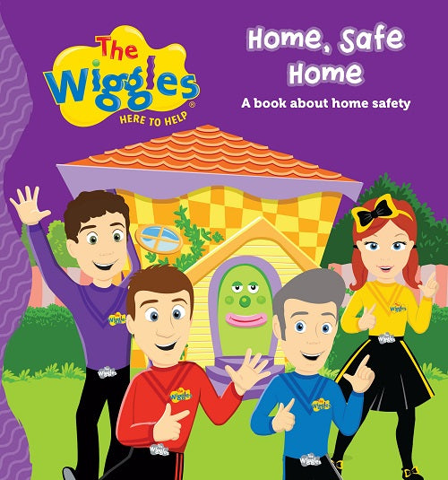 THE WIGGLES HERE TO HELP HOME, SAFE HOME BOOK