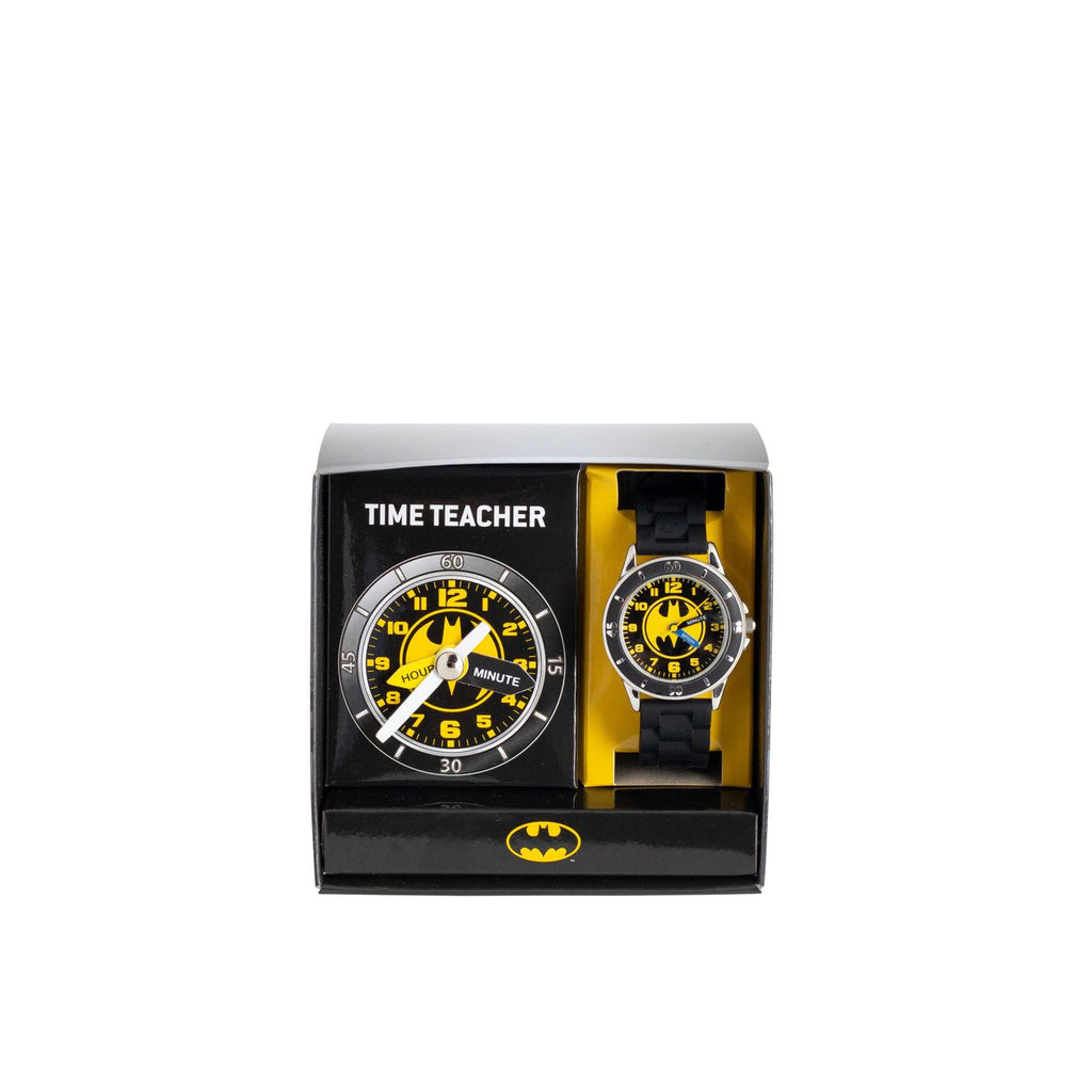 ACCUTIME TIME TEACHER WATCH DC BATMAN