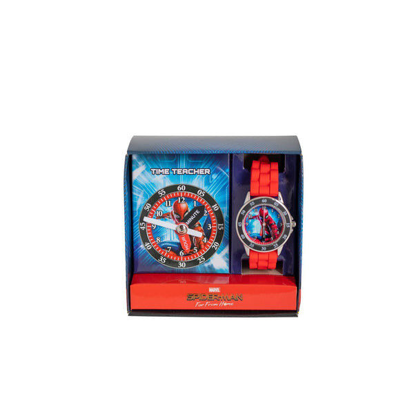ACCUTIME TIME TEACHER WATCH MARVEL SPIDER-MAN