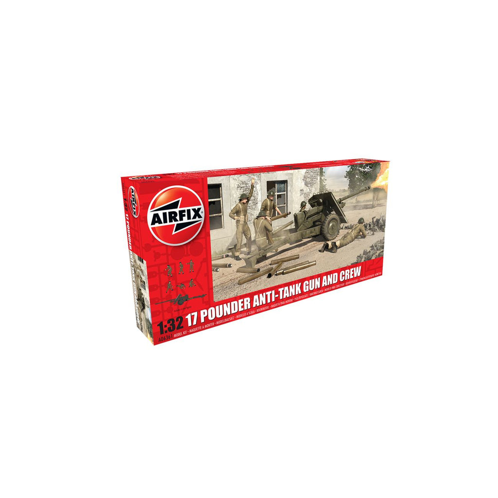 Airfix Pounder Anti Tank Gun and Crew - Toyworld