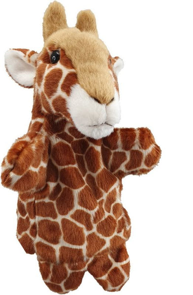 Antics Wild Ones Hand Puppet Giraffe - Toyworld