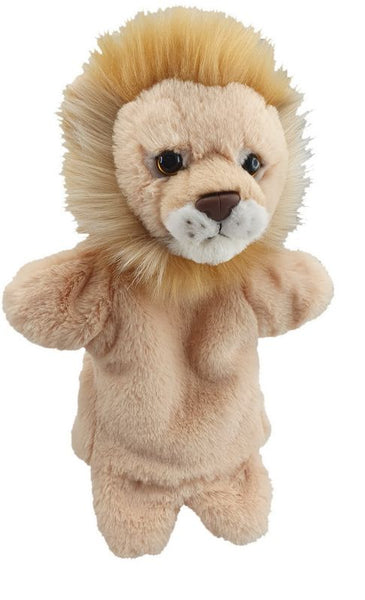 Antics Wild Ones Hand Puppet Lion - Toyworld