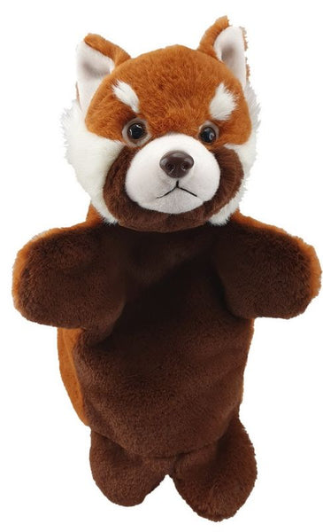 Antics Wild Ones Hand Puppet Red Panda - Toyworld