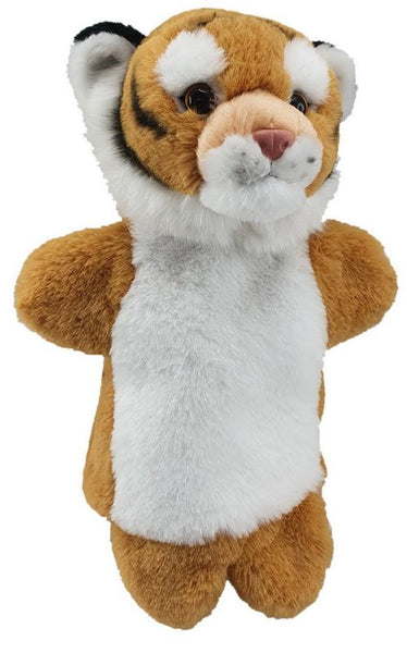 Antics Wild Ones Hand Puppet Tiger - Toyworld