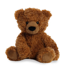 AURORA CURLY HAIR BEAR CINNAMON 30CM