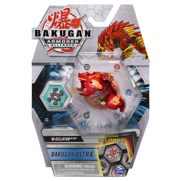 BAKUGAN ULTRA ARMORED ALLIANCE DELUXE 1 PACK GILLATOR ULTRA